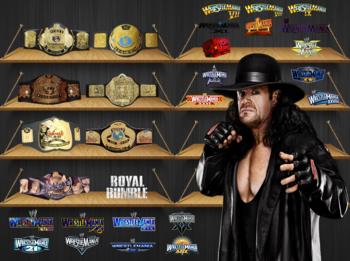 wwe champion four times world heavyweight champion three times world    Undertaker World Heavyweight Champion 2009