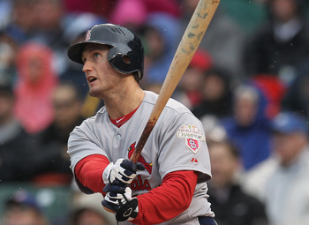 David Freese batted .211 in May for the Cardinals.