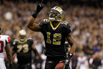New Orleans Saints WR Marques Colston