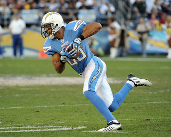 Former Chargers WR Vincent Jackson signed with the Tampa Bay Buccaneers in the off-season.