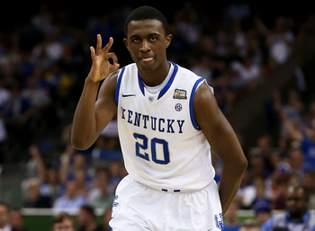 Kentucky's Doron Lamb is a marvelous three-point shooter.