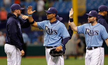 The Blue Jays haven't beaten the Rays in a series since April, 2007.
