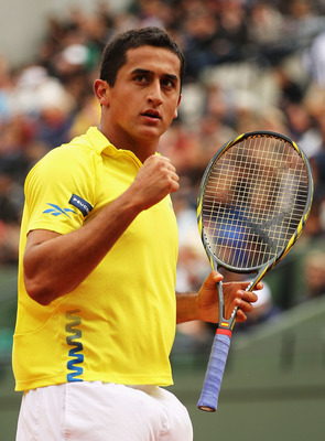 Nicolas Almagro, the lowest seed left in the French Open