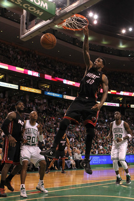 Udonis Haslem is the most important reserve in Miami.