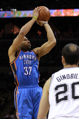 Fisher's calm, veteran leadership was needed in Oklahoma City.