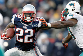 Stevan Ridley looks to have the inside track on the starting running back spot.