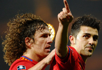 Puyol and Villa will be absent from the Spain side.
