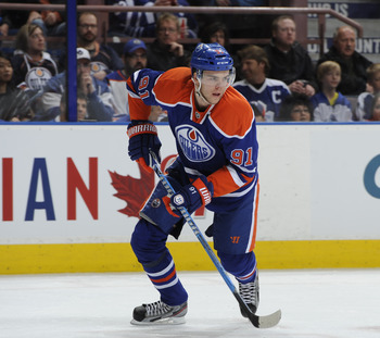 Edmonton Oilers 2009 first-round pick Magnus Paajarvi
