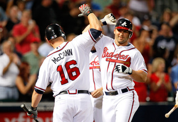 Brian McCann and Dan Uggla haven't hit well with runners in scoring position for the Braves.