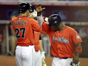 The Marlins' middle of the lineup is batting .216 with runners in scoring position.