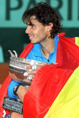 The record seven-time Roland Garros champion