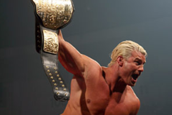 Ziggler during his short reign with the World Championship. Photo by WWE.com