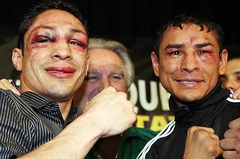 Vazquez and Marquez / boxing-ring.blogspot.com