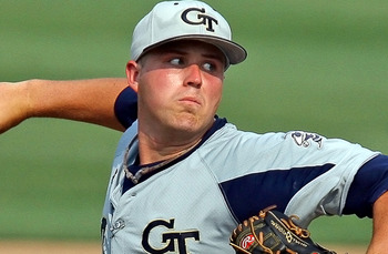 Georgia Tech RHP Buck Farmer - photo credit: ramblinwreck.com