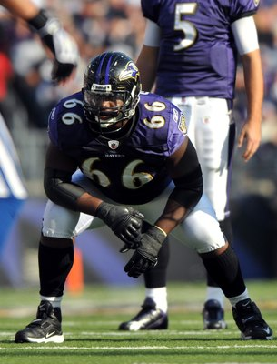 Grubbs was a rock on the Ravens' line last season.