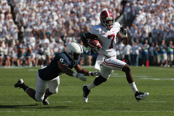 Bell enters the fall as the favorite to emerge as the Crimson Tide's top pass-catching threat this season.