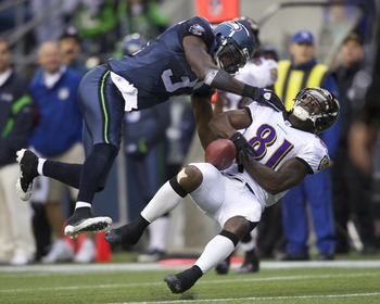 49er wideouts hope to avoid hits like these from Kam Chancellor.