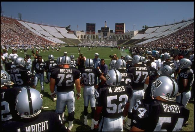 Raiders Coliseum
