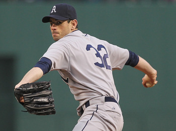 Brandon McCarthy has pitched 7 innings in five starts this season.