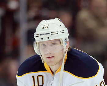 Christian Ehrhoff of the Buffalo Sabres