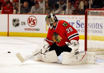 Former Blackhawks goalie Cristobal Huet