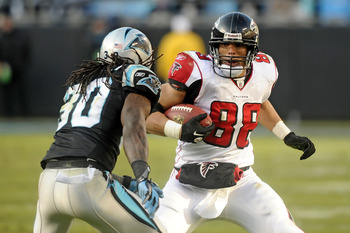 Atlanta Falcons TE Tony Gonzalez proved in 2011 that he still has some gas in the tank.