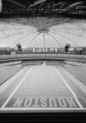 The expansion-era Astros and Oilers both played at the Houston Astrodome