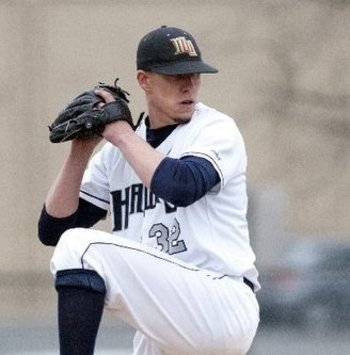 Pat Light could be a future force for the Red Sox. Photo credit: Jim Reme/Monmouth University Photography