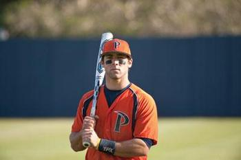 Joe Sever, second baseman from Pepperdine University, was the 21st round pick for the Cleveland Indians. Photo courtesy malibutimes.com