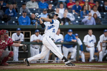 Creighton catcher Anthony Bemboom was taken by the Angels in the 22nd round. Photo courtesy gocreighton.com