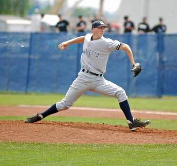 Austin Blaski, 21st round pick for the Milwaukee Brewers. Photo courtesy postcrescent.com