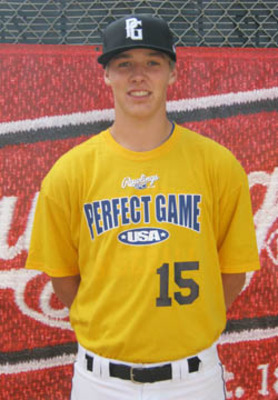 Connor Baits, 23rd round pick for the New York Mets. Photo courtesy perfectgame.org