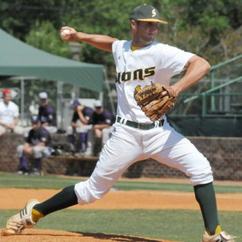 Southeastern Louisana closer Stefan Lopez was the Yankees' 16th round pick. Photo courtesy collegebaseball360.com