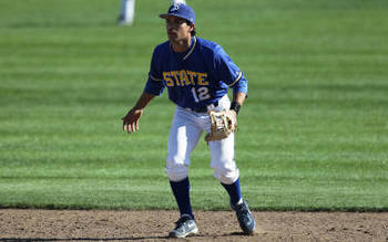 Mike Aldrete was selected in the 39th round by the Cardinals. Photo courtesy sjsuspartans.com