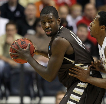 Andrew Nicholson could back his way into NBA playing time.