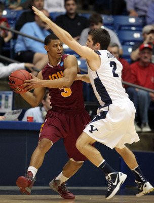 Scott Machado led the NCAA in assists as a senior.