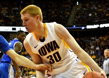 Aaron White's breakout season in 2011-12 are part of the reason for rising expectations in Iowa City