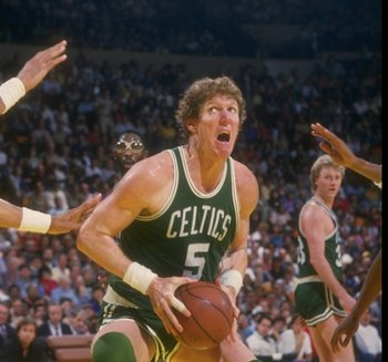 Bill Walton, as a member of the Celtics toward the end of his career.
