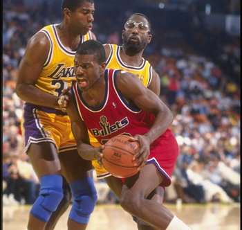 Bernard King isn't best remembered for his years on the Bullets.