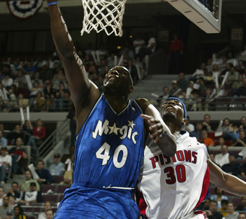 Shawn Kemp finished his career with the Magic.
