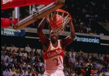 Dominique was a high-flying, high-scoring, member of the Hawks.
