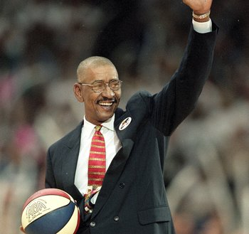 George Gervin, a legend in both the ABA and NBA .