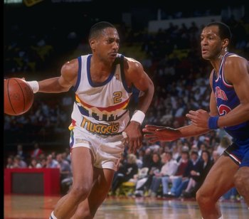 Alex English could score with the best of them in the 1980's.