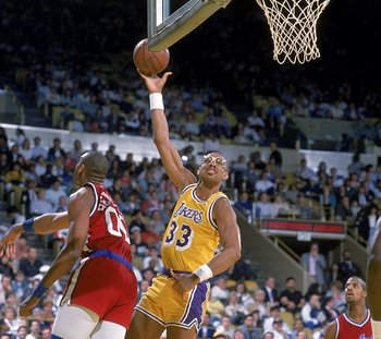 Kareem's skyhook played a huge role in Abdul-Jabbar becoming the NBA's all time leading scorer.