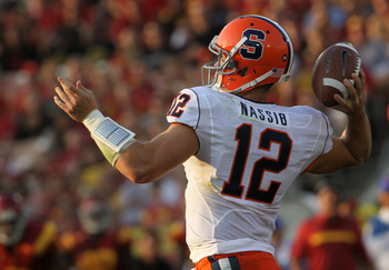 Ryan Nassib will lead a new offense for Syracuse in 2012