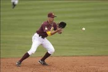 Is ASU shortstop Deven Marrero a steal or a bust for Boston Red Sox? Photo courtesy statepress.com