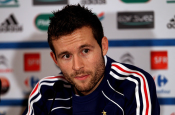 Newcastle midfielder Yohan Cabaye