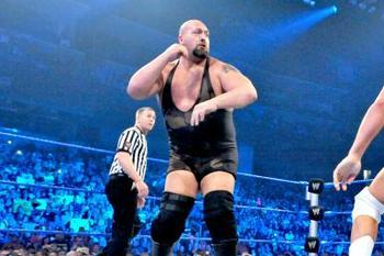 Big Show going for the WMD on Cody Rhodes. Courtesy: WWE.com.