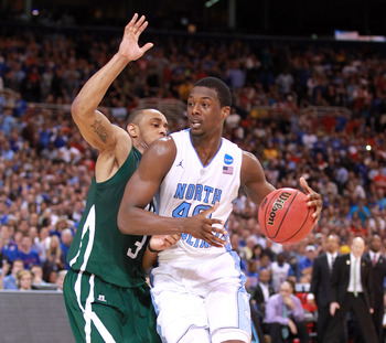 North Carolina forward Harrison Barnes