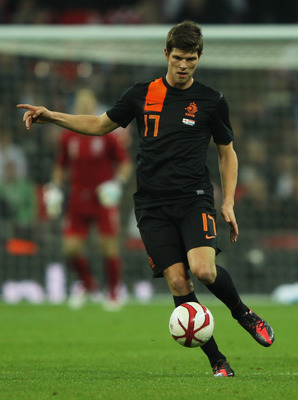 Schalke striker Klaas-Jan Huntelaar